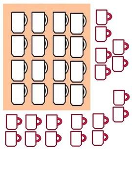 Customary Liquid Measurement Manipulatives