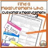 Customary Measurement Activity