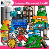 Customary Length Clip Art: Measurement Tool Graphics {Glitter Meets Glue}