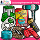 Customary Length Clip Art {Measurement Tools for Math Lessons}