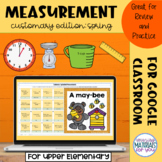 Customary Measurement Comparisons | Spring Mystery Picture