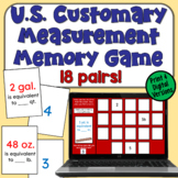 Customary Measurement Concentration: A Memory Game