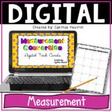 Customary Measurement Conversion Digital Task Cards for Google Slides