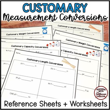 Measurement Conversion Reference Sheet Teaching Resources Teachers