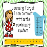 Converting Customary Unit of Measurement Conversion Length