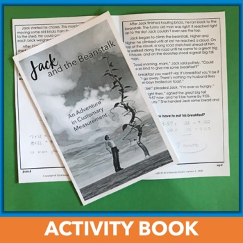 Customary Measurement Conversions Unit and Activity Book Bundle