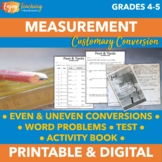 Customary Units of Measurement Bundle - Converting Length, Volume, and Mass
