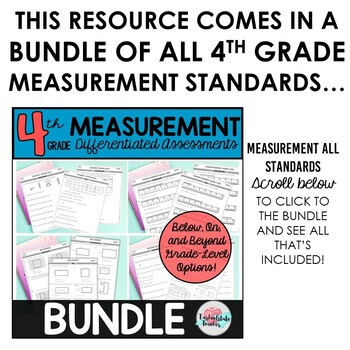 Customary Measurement Conversions: Weight Differentiated Assessments or Practice