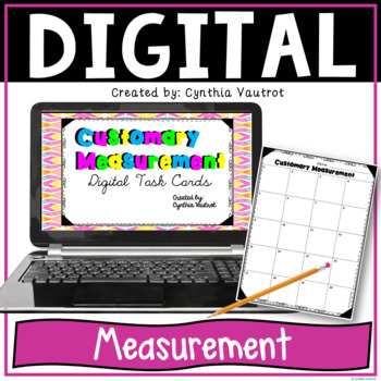 Customary Measurement Digital Task Cards