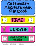 Customary Measurement Conversions Foldable FlipBook