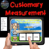 Customary Measurement Length Conversion Boom Cards