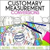 Customary Measurement Math Wheel