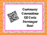 Customary Measurement QR Code Scavenger Hunt