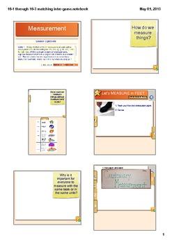 Customary Measurement Smart Board Lesson CCSS 4.MD.1