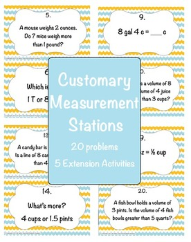 Customary Measurement Stations