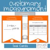 Customary Measurement Task Cards