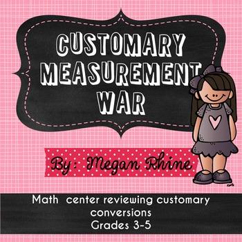 Customary Measurement War Game