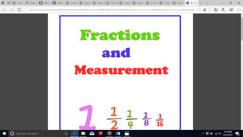 The Ruler in Customary Measurement Video 1 and Activities