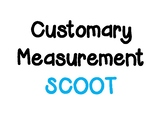 Customary Measurement for Length SCOOT (No Conversions)