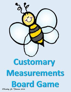 Customary Measurements Board Game