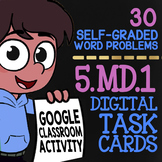 Customary & Metric Conversions Activity ★ 5th Grade Google Classroom Math 5.MD.1