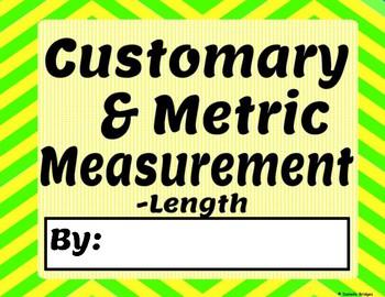 Customary & Metric Measurement: Digital & Printable Versions