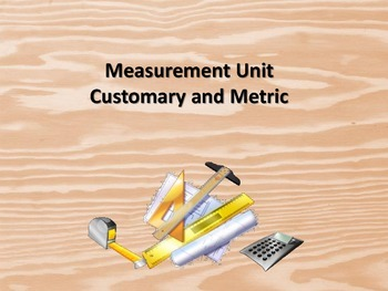 Measurement Unit - Standard and Metric Systems