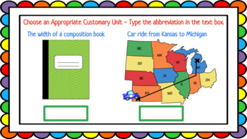 Customary System Google Slide