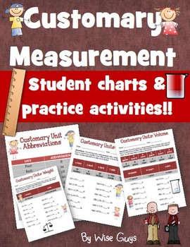 Customary Measurement System Activities