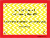 Customary Units Review Booklet