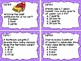 Customary Units Task Cards
