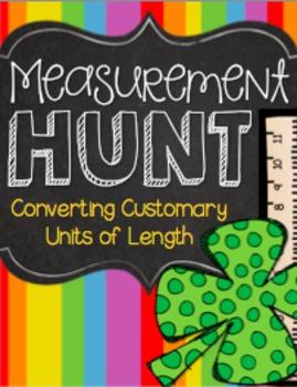 Customary Units of Length Measurement Hunt