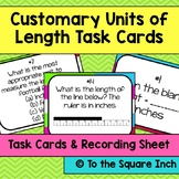 Customary Units of Length Task Cards