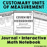 Customary Units of Measure Journal