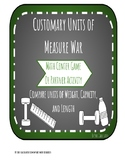 Customary Units of Measure War Game
