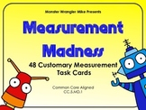 Customary Units of Measurement Task Cards -- Fifth Grade Common Core Aligned