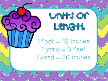 Customary Units of Measurement - Task Cards Set of 30