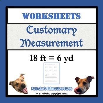Customary Units of Measurement Worksheets