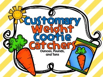 Customary Weight Cootie Catcher-Ounces, Pounds, and Tons