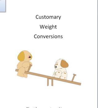 Customary Weight Practice