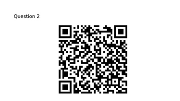 Customary Weight QR Code Activity
