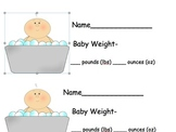 Customary Weights- Baby Weights