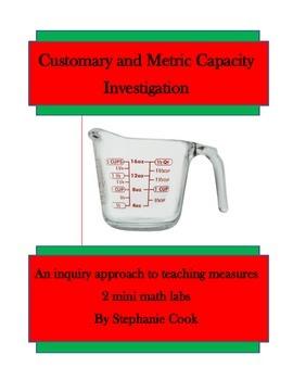Capacity: Customary and Metric Mini Labs