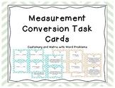 Customary and Metric Measurement Conversion Task Cards