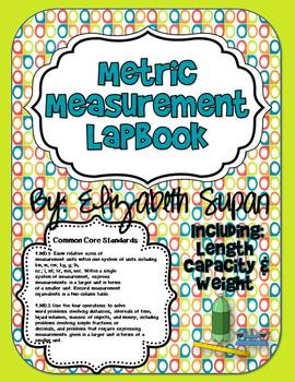 Customary and Metric Measurement Lapbook Bundle {Common Core Aligned}
