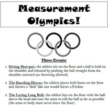 Customary and Metric Measurement Olympics!