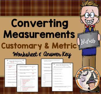 Customary and Metric Measurement Converting Measurements P