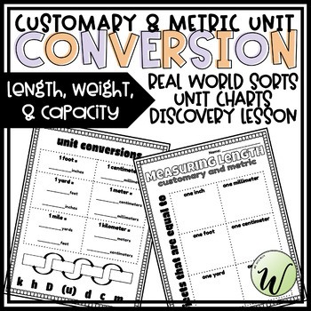 Customary and Metric Unit Conversions