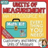 Customary and Metric Units of Measurement Math Kit
