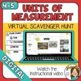 Customary and Metric Units of Measurement Scavenger Hunt D